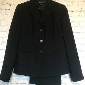 black pant suit Kasper size 6